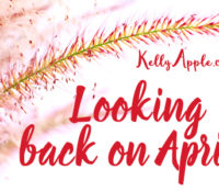 Looking back on April…