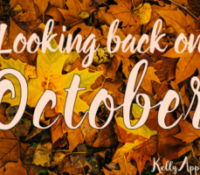 Looking back on October…