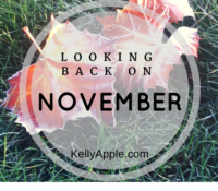 Looking Back on November
