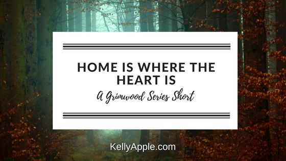 grimwood short home is where the heart is kelly apple. Black Bedroom Furniture Sets. Home Design Ideas