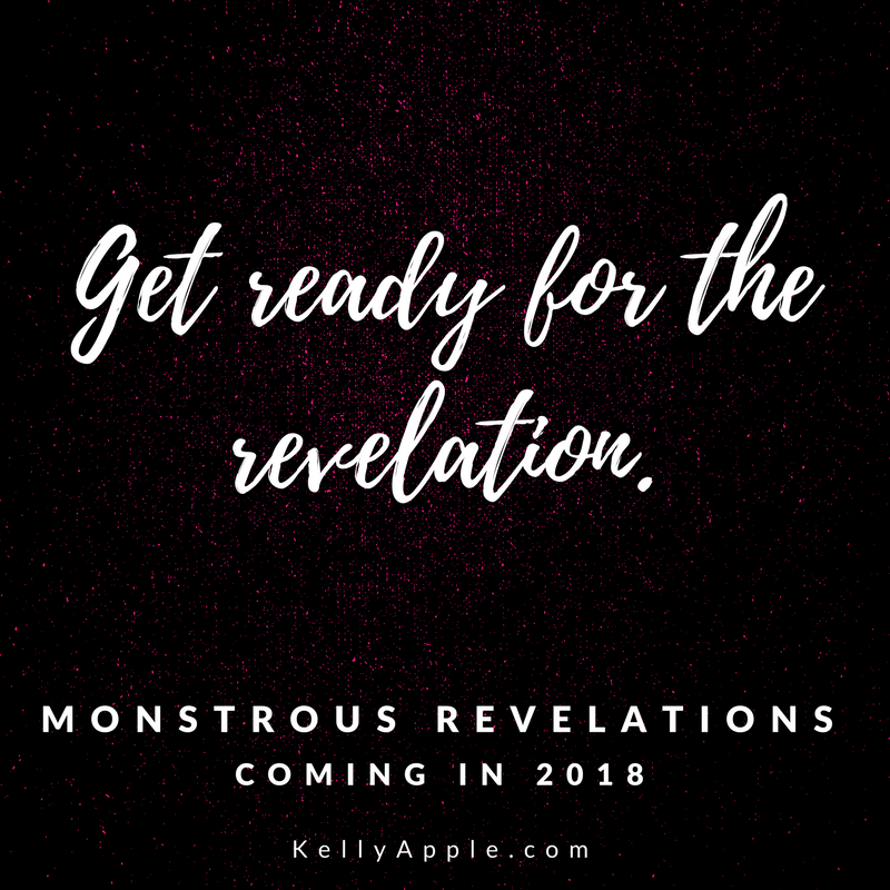 Get ready for the revelation - Monstrous Revelations coming in 2018