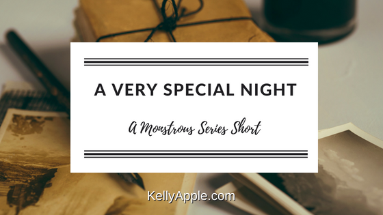 A Very Special Night - A Monstrous Series Short featuring Amanda and Jerinth // Paranormal Romance // Relationships // Series Short // Website Exclusive //