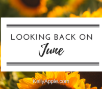 Looking Back on June