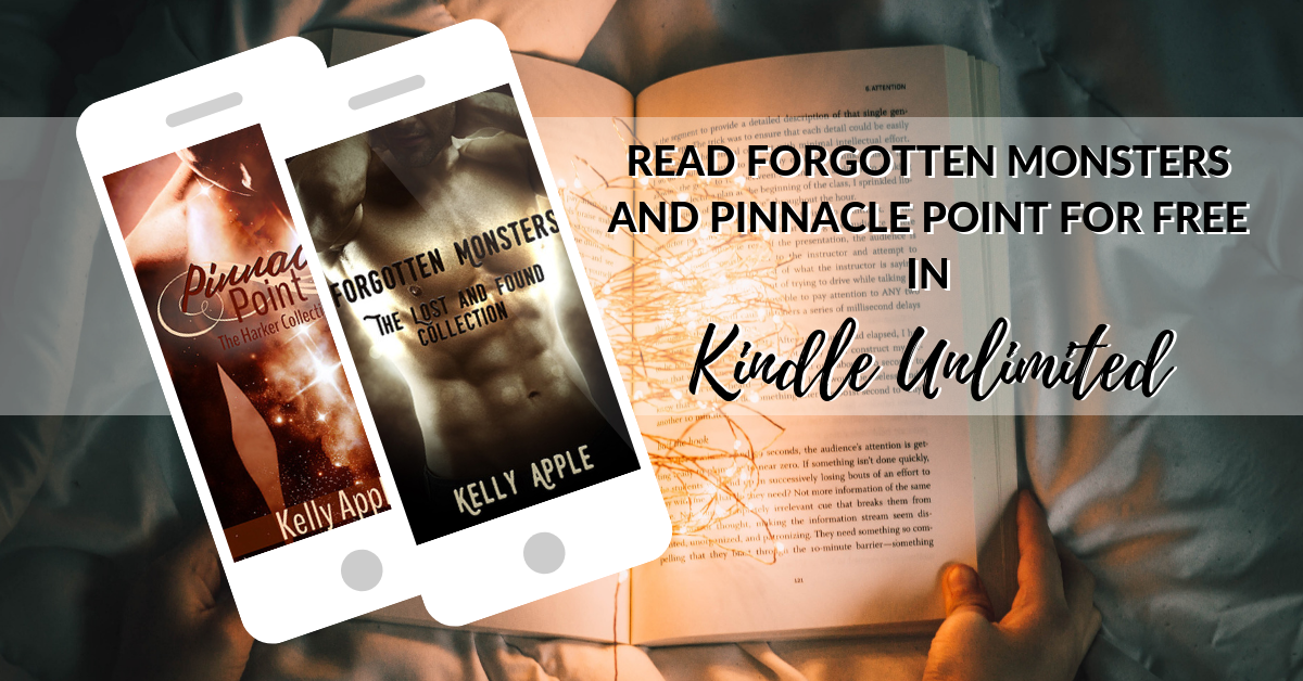 Forgotten Monsters and Pinnacle Point are FREE in Kindle Unlimited