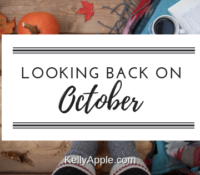 Looking Back on October