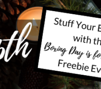 Stuff Your Ereader with the Boxing Day is for Reading Freebie Event!