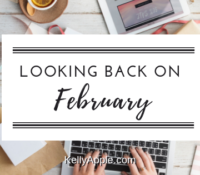 Looking back on February…
